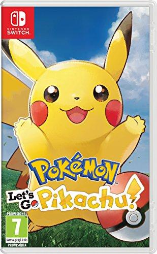 Pokémon: Let's Go, Pikachu! Nintendo Switch - Pegi