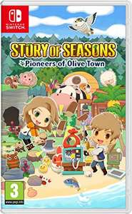 Story of Seasons. Pioneers of Olive Town für 34,72€ / Deluxe Edition für 47,83€ Nintendo Switch
