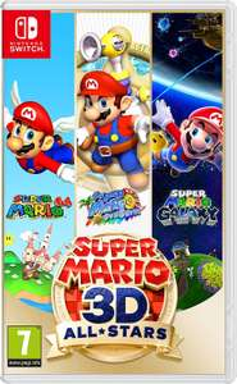 Super Mario 3D All-Stars (Nintendo Switch) - Pegi