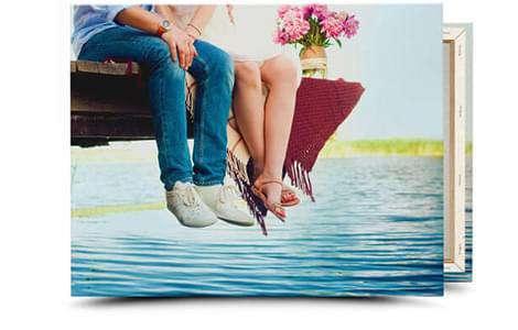 REWE Foto   dein Foto auf Leinwand in 40x30cm für 4,21€ / 60x40cm für 5,75€ oder 80x60cm für 12,90€ + je 6,90€ VSK
