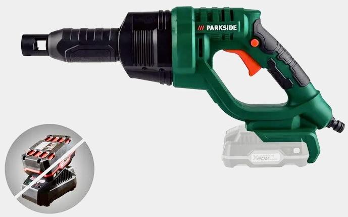 PARKSIDE Akku Druckreiniger PDRA 20-Li A1 ohne Wasseranschluß nutzbar! max. 22 bar (o. Akku) für 49,99€ und weitere Akku Werkzeug Angebote