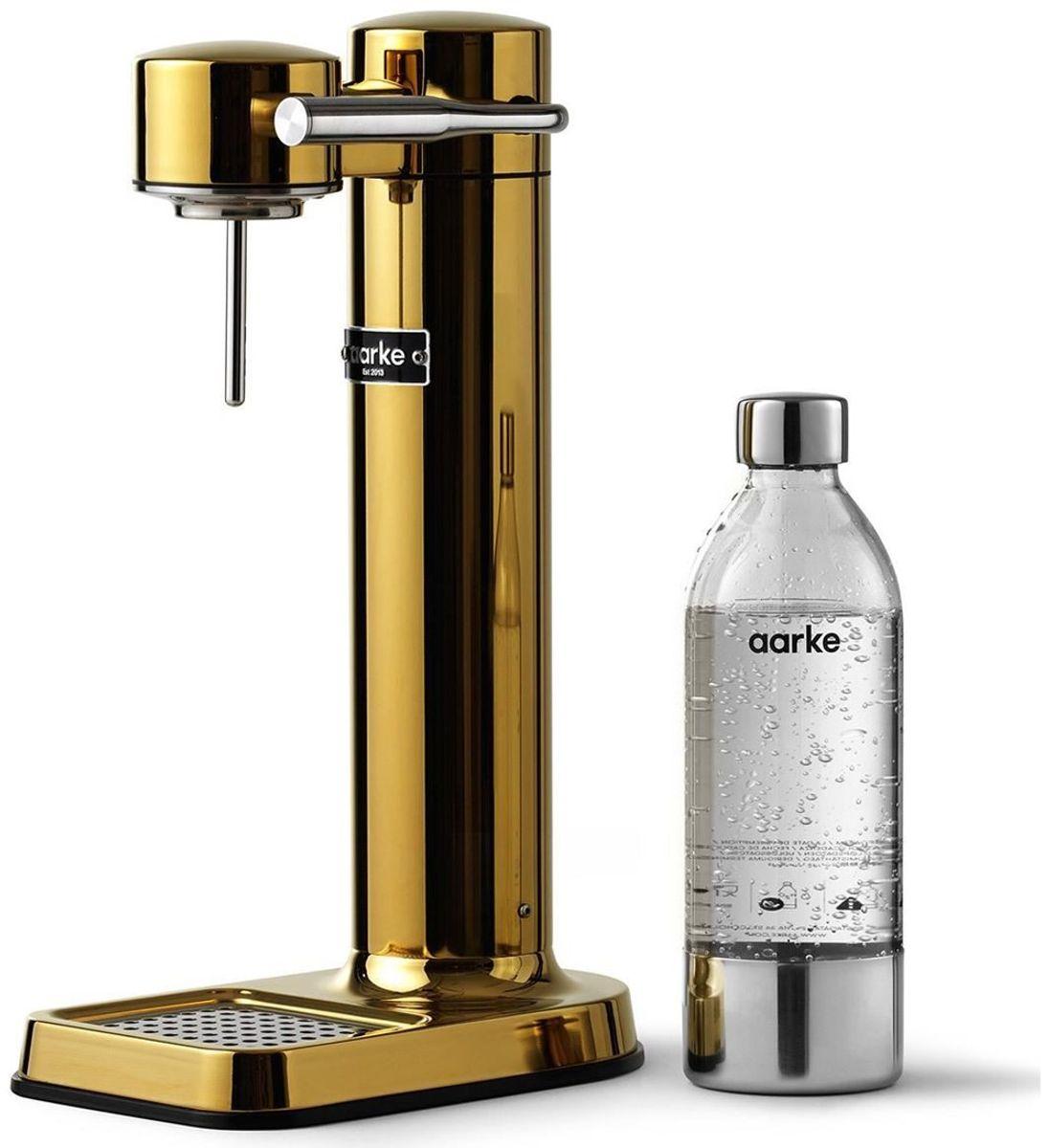 Aarke Carbonator III Wassersprudler in gold