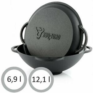 BBQ-Toro Kazan Gusseisen Topf 6,9l bzw. 12,1l [Ebay]