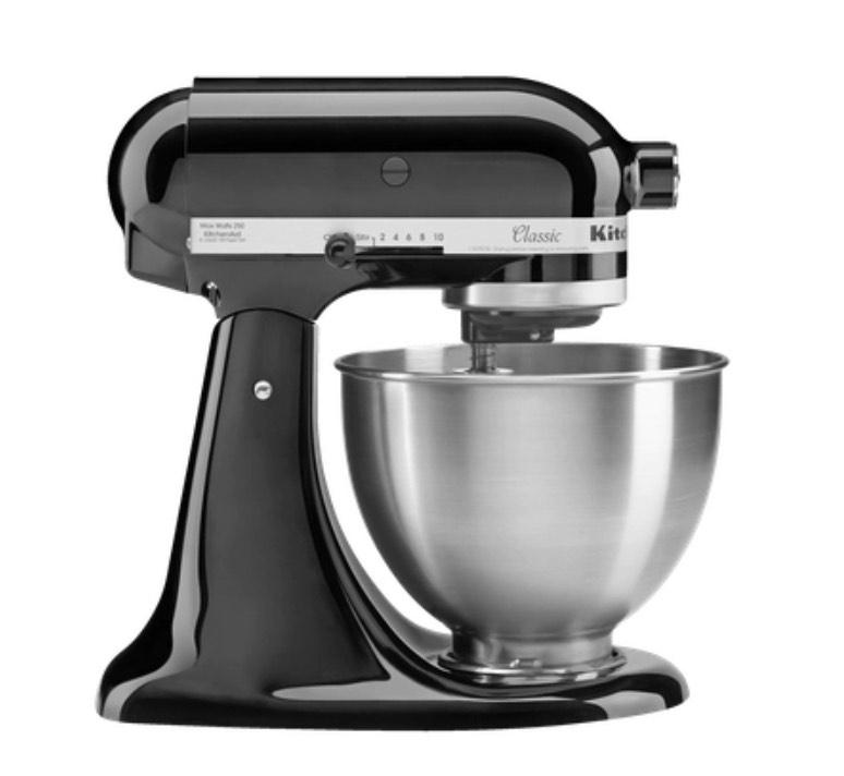 [Metro] KitchenAid Küchenmaschine Classic 5K45SSEOB Onyx Black