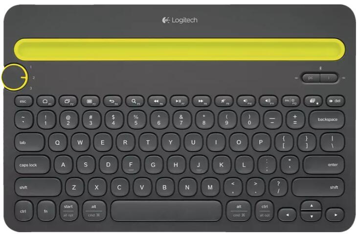 [Prime] Logitech K480 Bluetooth Multi-Device Keyboard schwarz, DE
