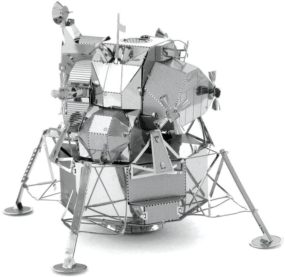 MetalEarth - 3D Puzzle Apollo Lunar Modul Mondlandefähre für 8,98€ (Alternate)