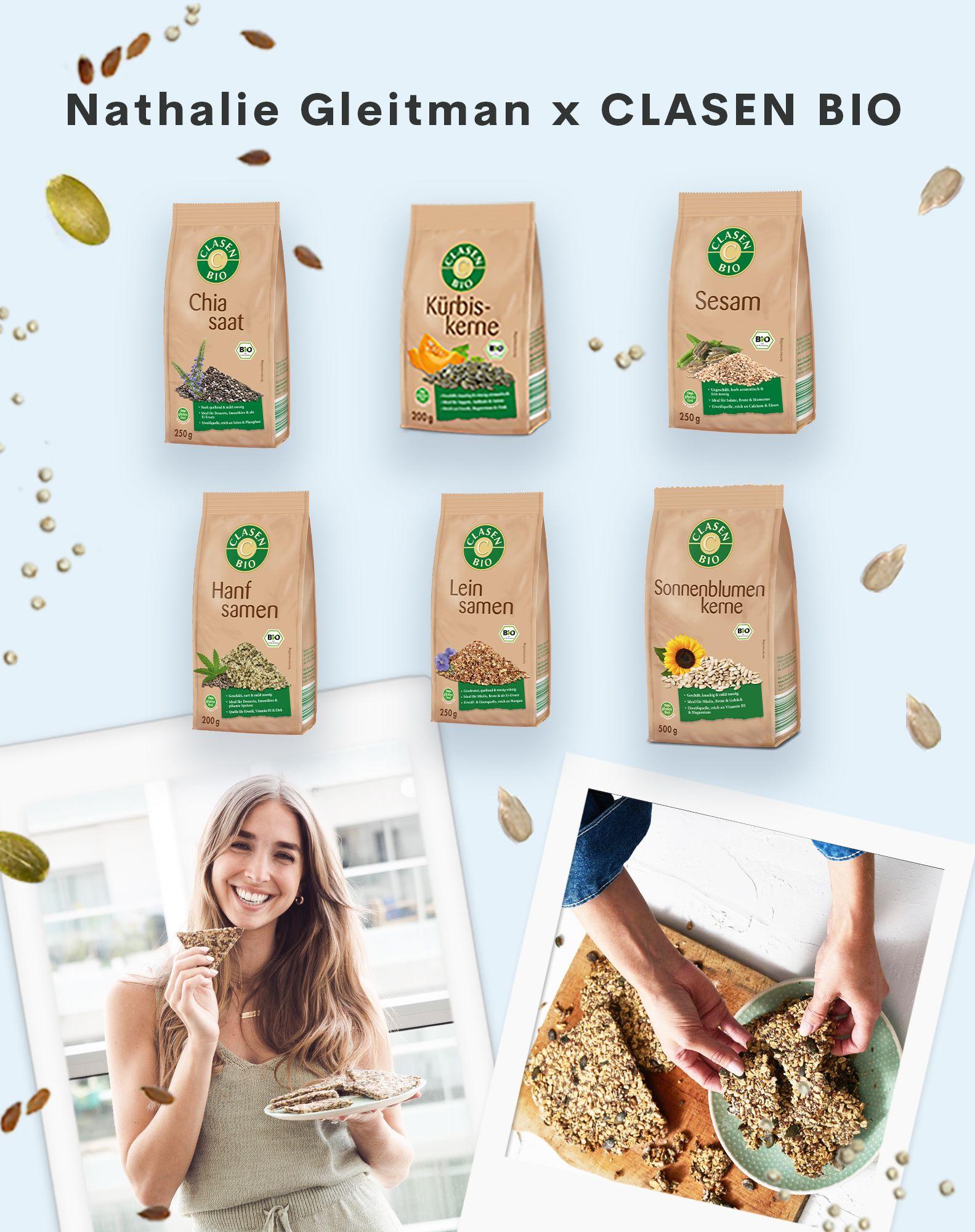 CLASEN BIO Box mit Saaten und Kernen für nur 14,99€ inkl. Versand statt 21,34€