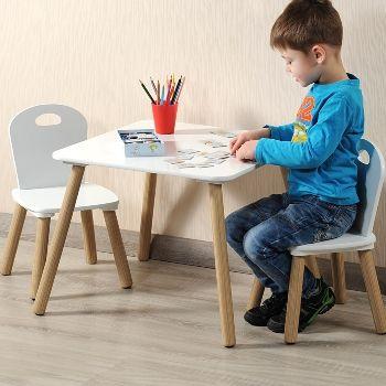 Kesper Sitzgruppe für Kinder, 1 Tisch 2 Stühle, offline 29,99 €, online 34,94 €, Netto