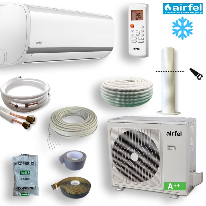 Airfel (Daikin Family) Single-Split Klimaanlagen Set 7 kW R410 3D Inverter - Komplett Set
