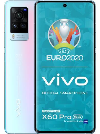 "Vivo X60 Pro 5G (256GB, 12GB RAM, 6,56"", FHD+, AMOLED, 120 Hertz) inkl. Harman-Kardon Onyx Studio 5 Bluetooth Lautsprecher"