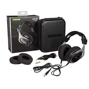 Shure SRH1540 Professional Premium Closed-Back Headphones, Clear, Extended Highs and Warm, A