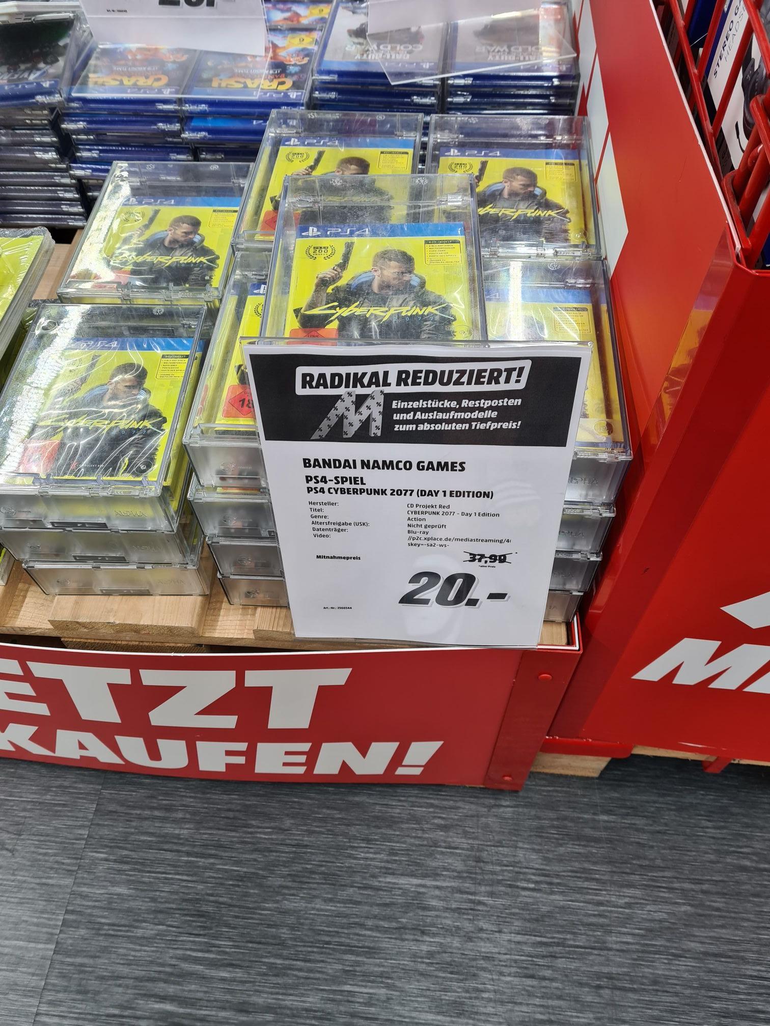 Cyberpunk 2077 PS4 Day 1 Edition Lokal Media Markt HH- Harburg