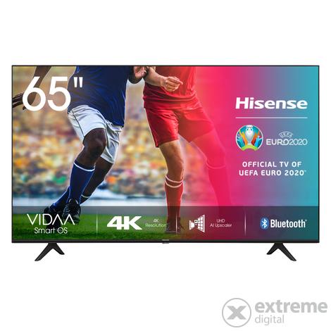 [edigital HU] HISENSE 65A7100F LED TV (Flat, 65 Zoll / 164 cm, UHD 4K, SMART TV, VIDA U3.0), Schwarz