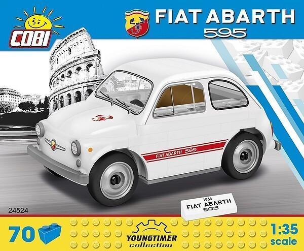 [bol.de] COBI 24524 - 1965 Fiat Abarth 595, Klemmbausteine Bausatz, 70 Teile, 1:35