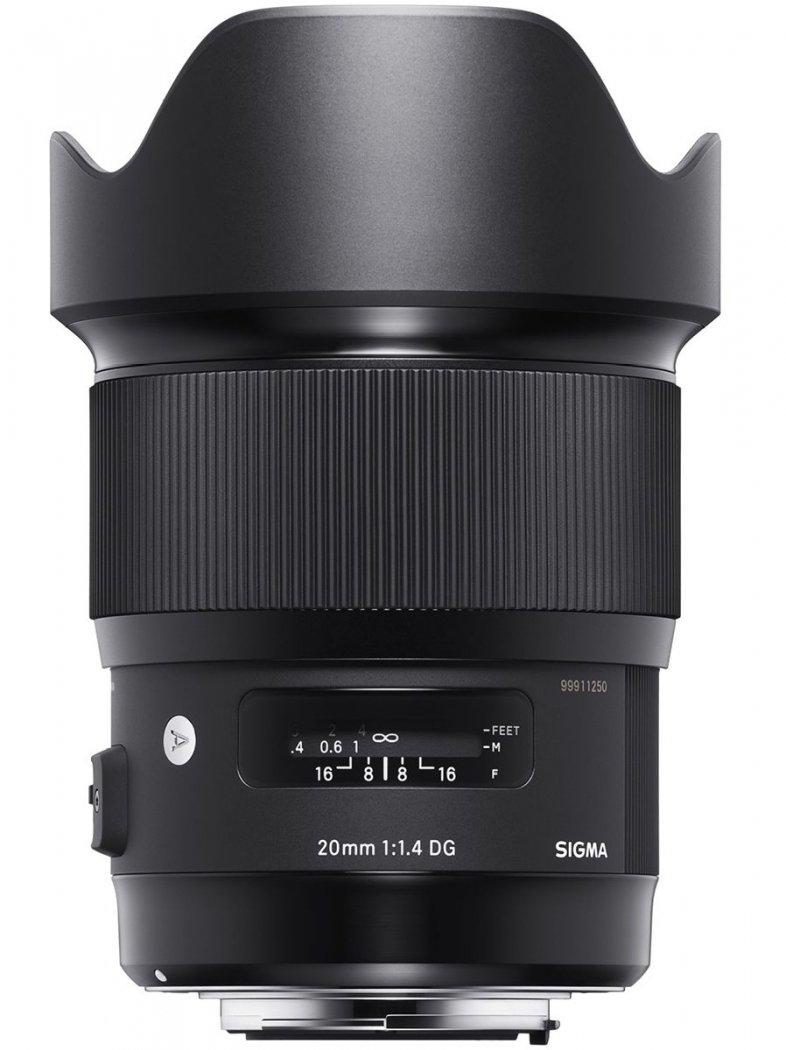 Sigma 20mm F1.4 DG HSM Art Objektiv für Nikon F-Mount