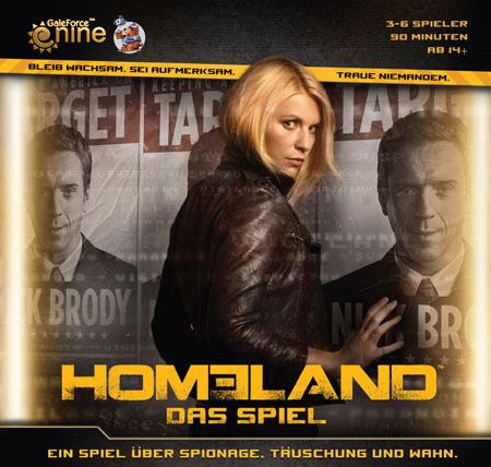 Homeland - Das Brettspiel - Einfaches, schnelles semi-kooperatives Spiel