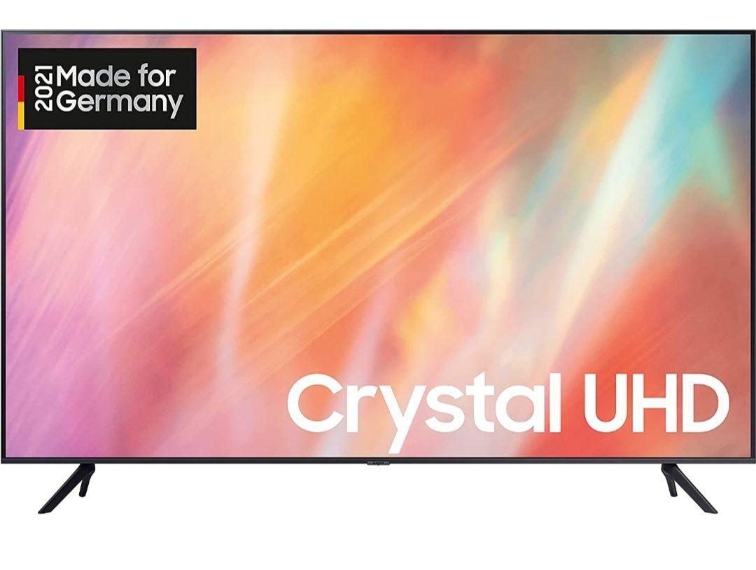 Samsung Crystal UHD 4K TV 55 Zoll (GU55AU7179UXZG), HDR, Q-Symphony - [Prime Day Angebot 470,34€]