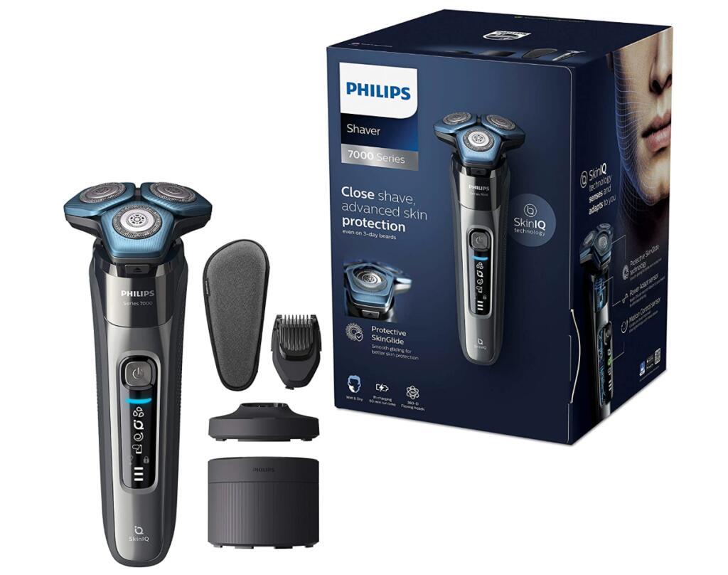 [Amazon Prime] Philips Series 7000 Elektrischer Nass- und Trockenrasierer S7788/59 über Alexa