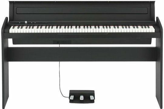 Korg LP180 Digital Piano, 88 Tasten, natürlich gewichtete Hammermechanik, Farbe Schwarz [Muziker]