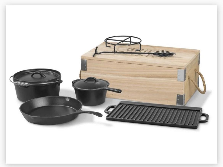 Dutch-Oven-Set 7-teilig (lidl online) + Newsletter