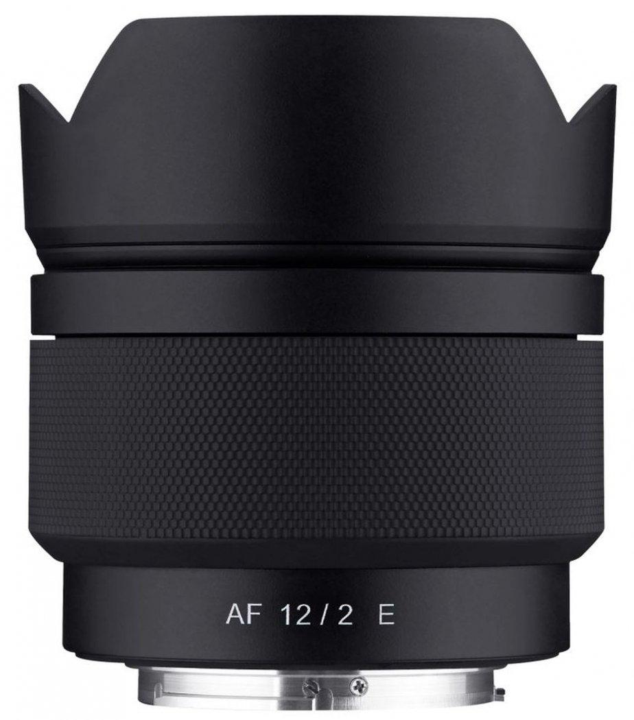 Samyang AF 12mm F2.0 Objektiv für Sony E-Mount (APS-C)