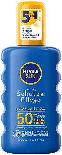 Nivea Sun LSF 50+ (200ml) Spray (Prime)