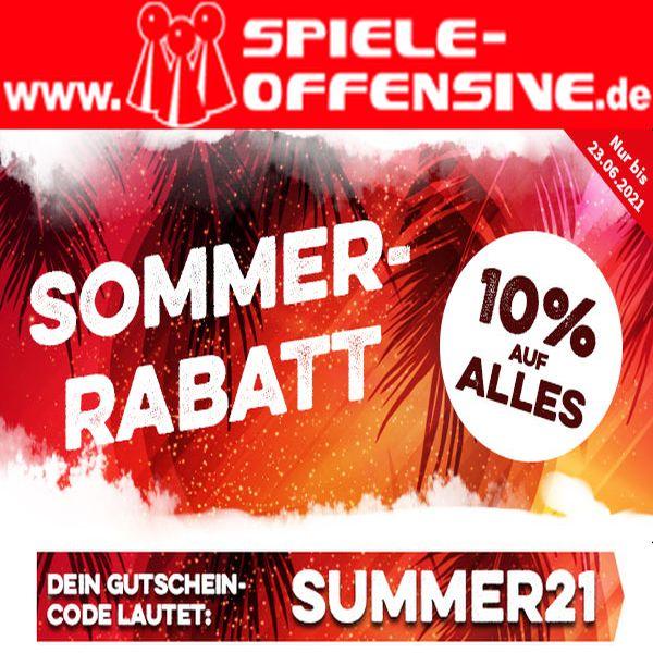 10% auf alles @ Spiele-Offensive.de + Shop-Familie