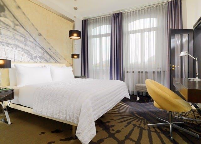 4* Le Meridien Grand Hotel Nürnberg, inkl. Frühstück, Parkplatz, Museumsbesuch, kostenlos stornierbar (bis Ende 21, auch Advent, Silvester)