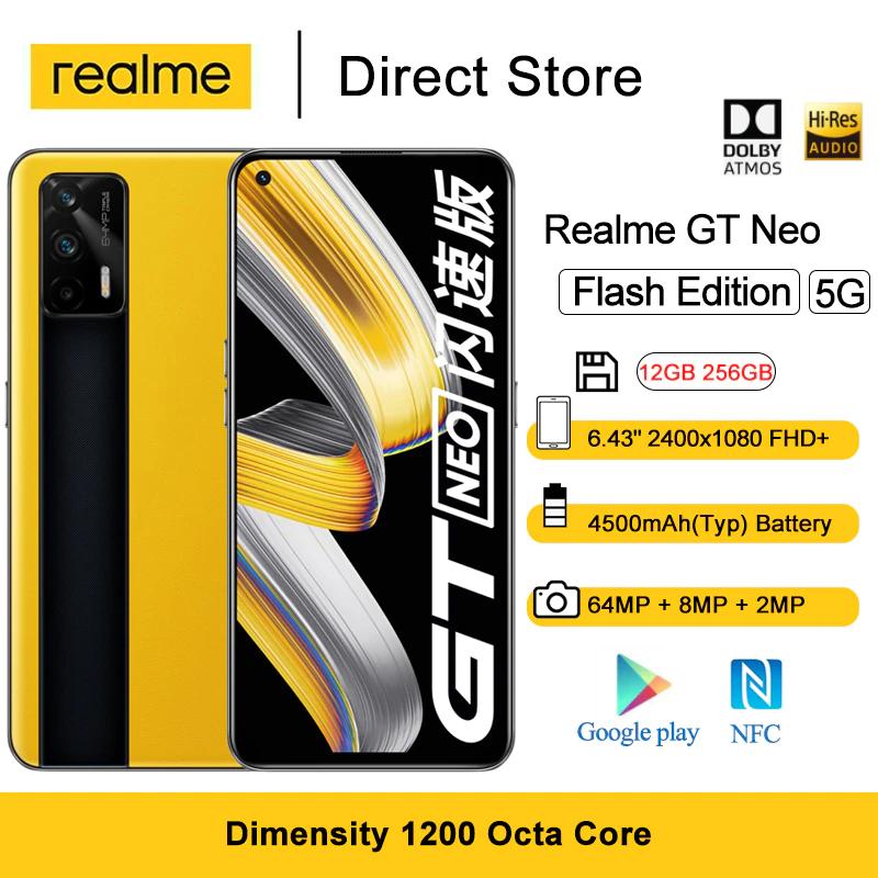 Realme GT NEO 256GB 5G - Aliexpress Sommerschlussverkauf - 300€