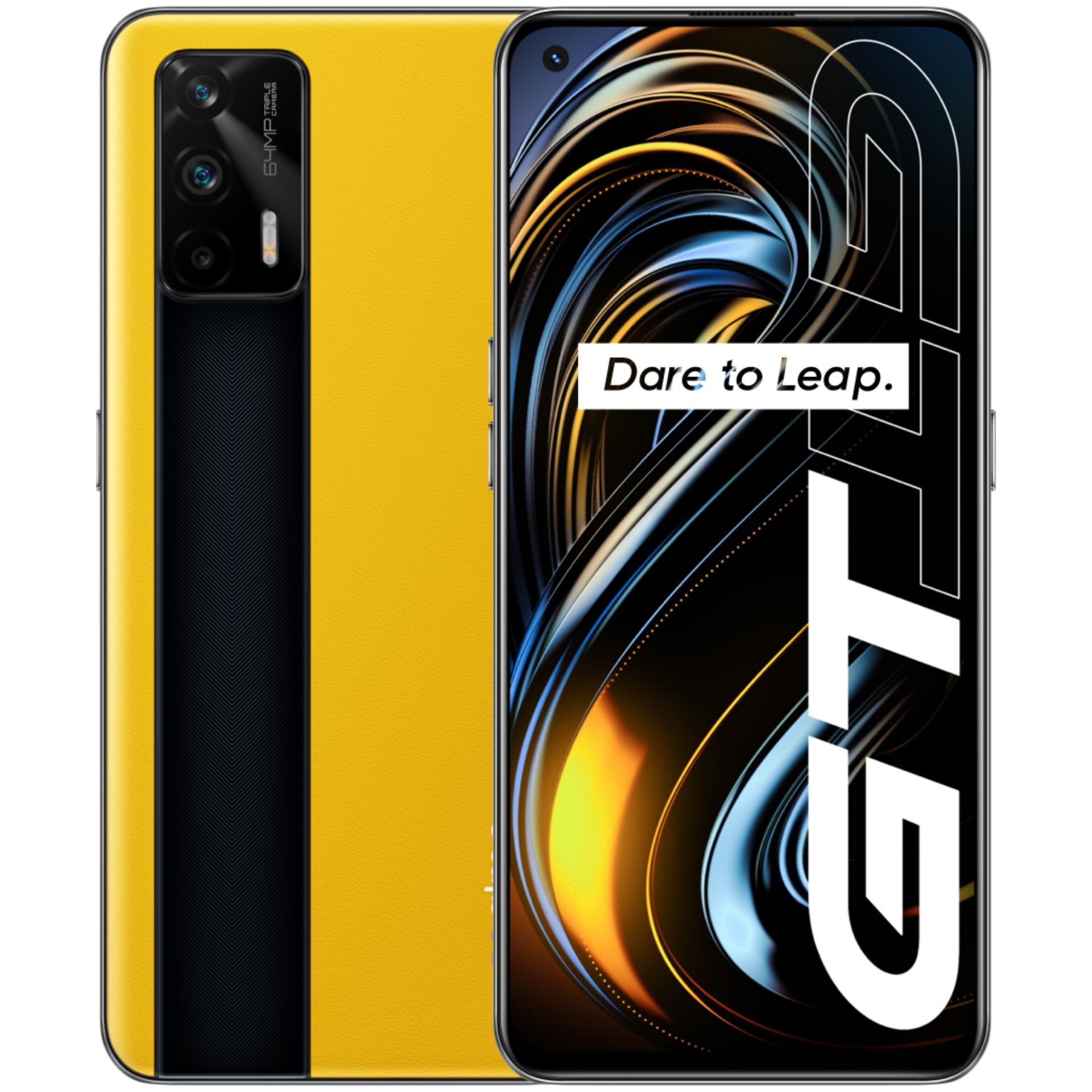 """Realme GT 5G 128/8GB (Snapdragon 888, 6.43"""" 120Hz Amoled Display, 64MP Triple Kamera, 4500mAh Akku, 65W Laden, 186 Gramm, Grauimport)"""