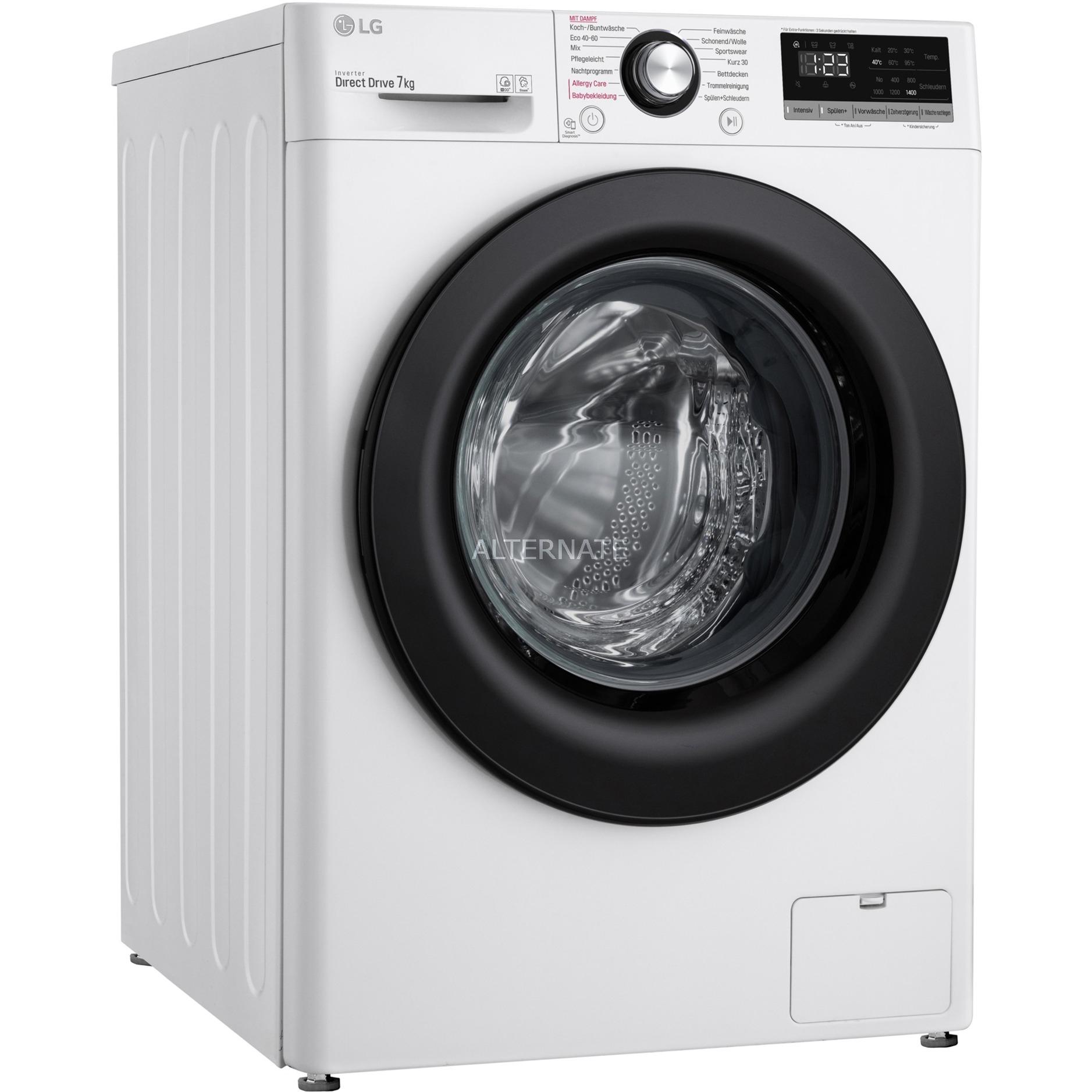 LG F14WM7EN0E Waschmaschine 7kg 1400 Umdrehungen