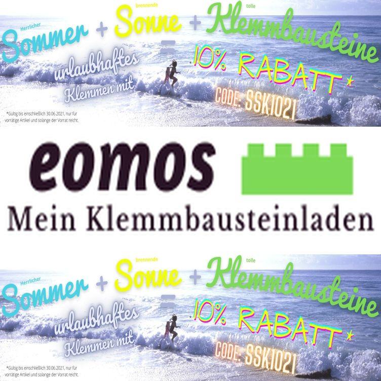 [Klemmbausteine] 10% Rabatt auf alle Produkte @ eomos-meinklemmbausteinladen.de