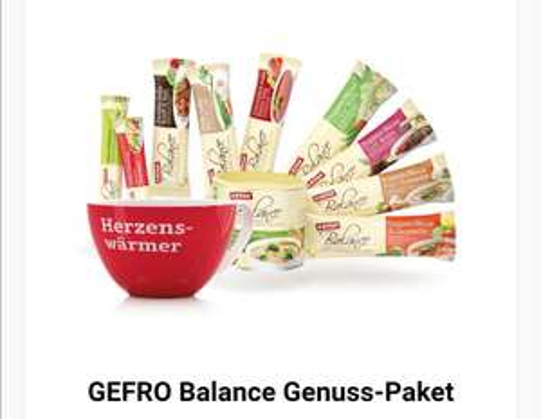 GEFRO Balance Probierset mit Tasse inklusive Porto
