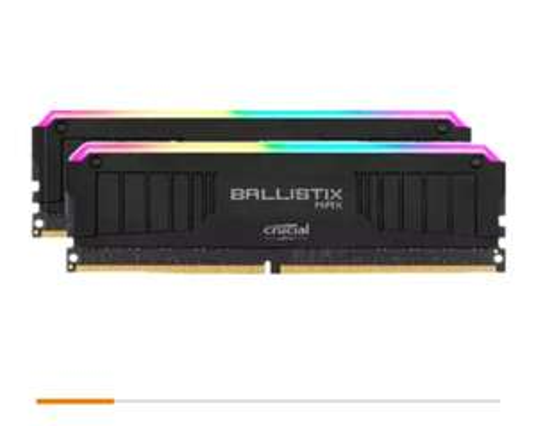 [Lokal Köln Saturn] Ballistix TM Max RGB 32GB Kit DDR4-4000 CL18 (BLM2K16G40C18U4BL)