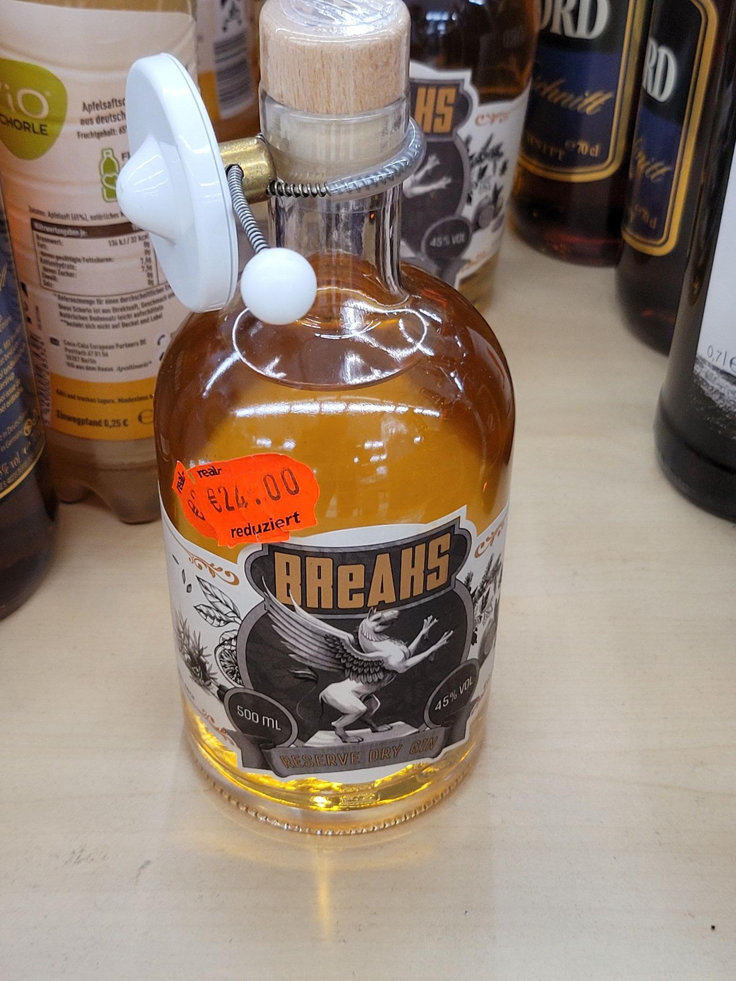 [LOKAL Hamburg Real] Breaks Reserve Dry Gin 45% Vol.