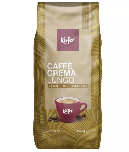 [Penny] Käfer Kaffee Caffee Crema oder Espresso 1KG