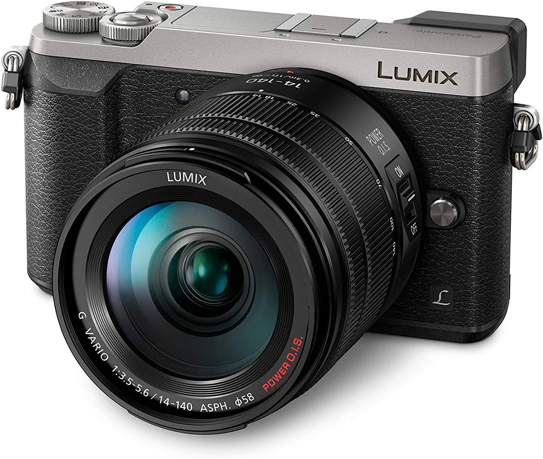 Panasonic Lumix GX80 MFT Systemkamera inkl. 14-140mm F3,5-5,6 Objektiv - Vorbestellung