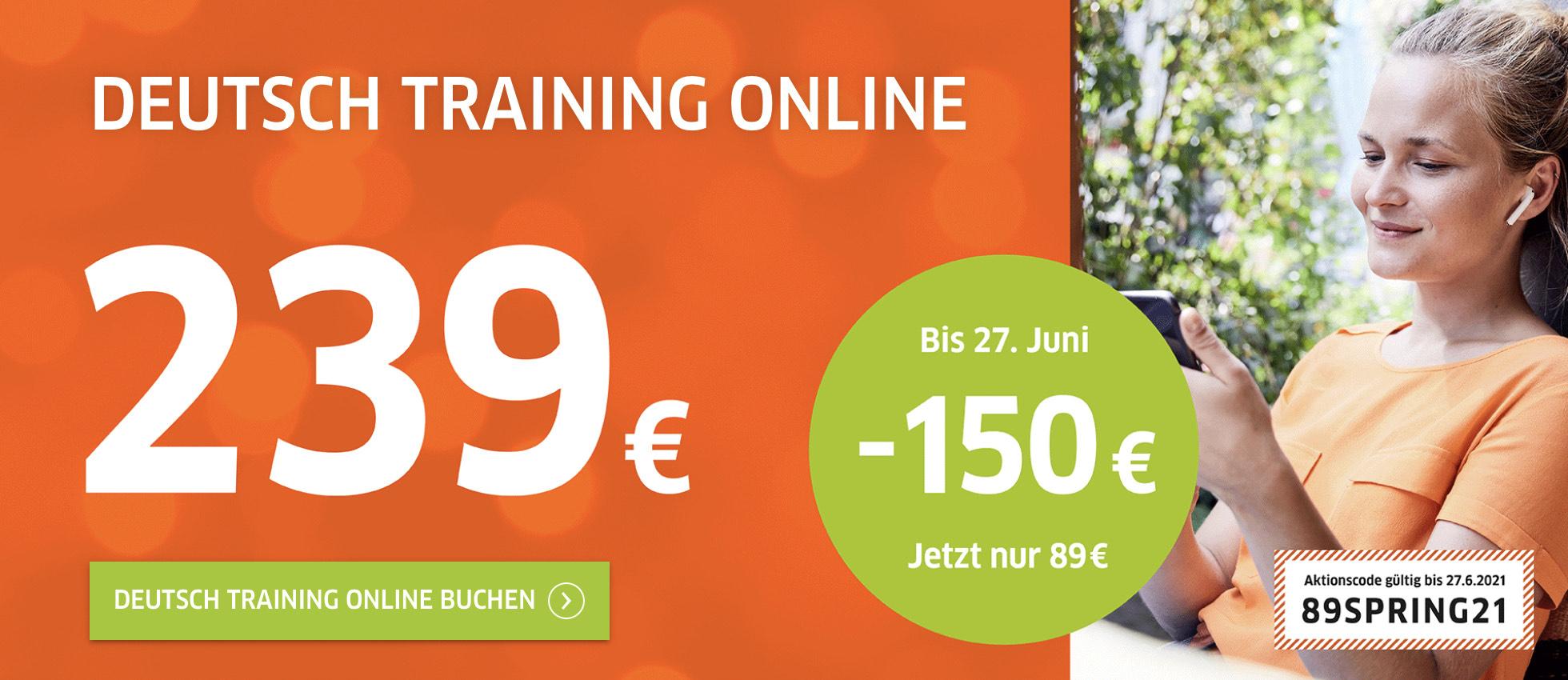 Goethe Institut Deutsch Training Online