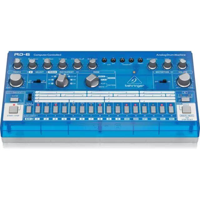 Behringer RD-6 BB Rhythm Designer, Drum Machine/analoger Drumcomputer für 8 Instrumente [Musicstore]