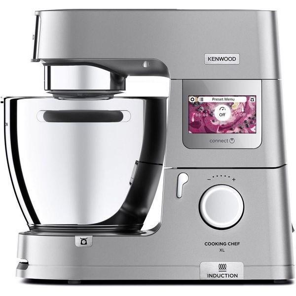 [CHECK24] KENWOOD KCL95.424SI Cooking Chef XL Küchenmaschine (1500 Watt, Induktion, 6,7l, Edelstahl-Schüssel, viel Zubehör)