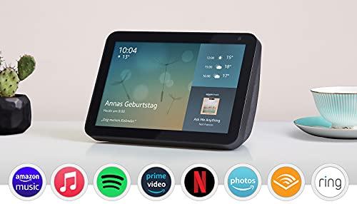 Echo Show 8 (1. Gen 2019) 64,99 € - mit Ring Video Doorbell wired 74,99 statt 160 €! // 2. Gen 2021 84,99 Alexa [Amazon Prime]