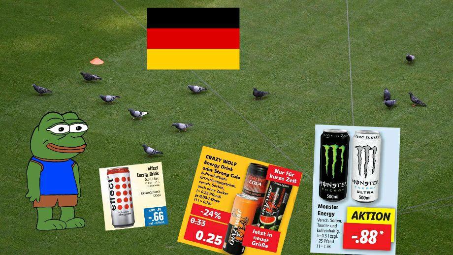 Energy Drink Angebote vom 21.06 - 26.06 z.B Crazy Wolf 330ml für 0.25€