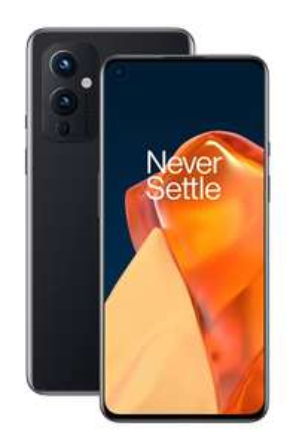 [WHD Zustand sehr gut] OnePlus 9 5G SIM-freies Smartphone mit Hasselblad-Kamera, 8 GB RAM + 128 GB, Schwarz (Astral Black)
