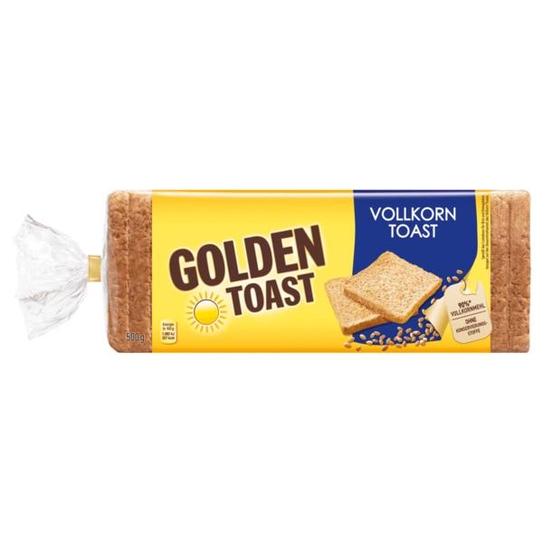 Tegut: Golden Toast Vollkorn / Buttertoast je 500 Gramm Packung , Kilopreis liegt bei 1,18 €