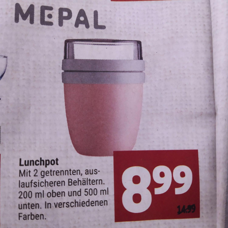 [LOKAL Marktkauf Hannover-Minden] MEPAL Lunchpot 8,99€ in verschiedenen Farben oder für 9,25€ bei Amazon in der Farbe Nordic Denim