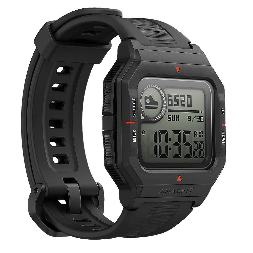 Amazfit Neo Smartwatch schwarz HF-Sensor Fitnesstracker [Cyberport]