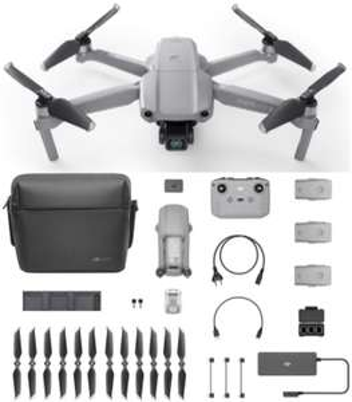 DJI Mavic Air 2 Fly More Combo – Drohne mit 4K Ultra HD Video, 48 MP Fotos, inkl. 3 Akkus usw. für 839€ inkl. Versandkosten