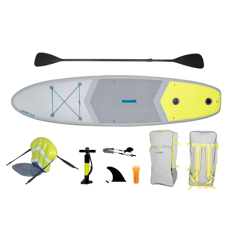 Stand-up-Paddle-Board-set, inkl. Paddle u. Standluftpumpe, 3J Garantie [Filiale]