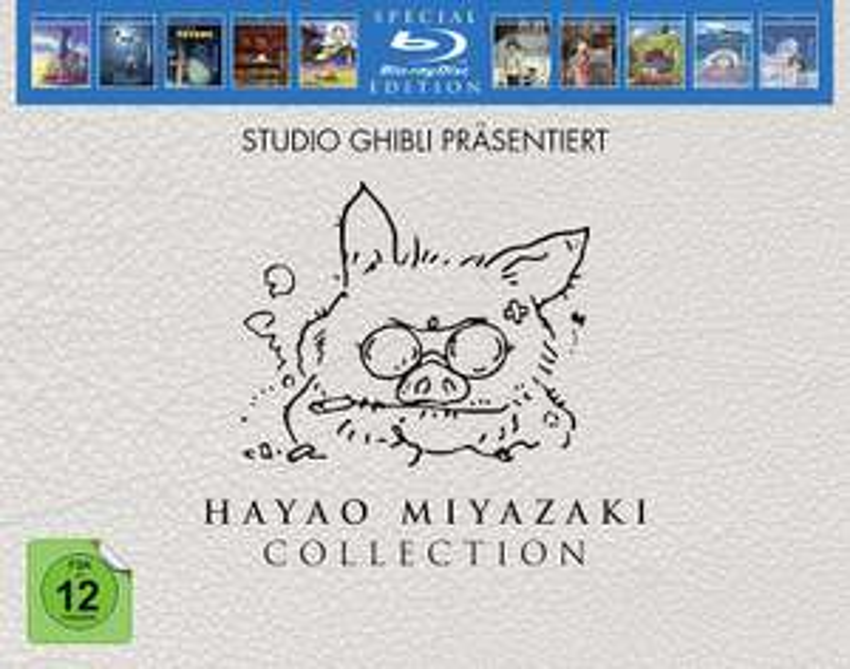 Hayao Miyazaki Collection Blu-ray [Amazon Prime Day]