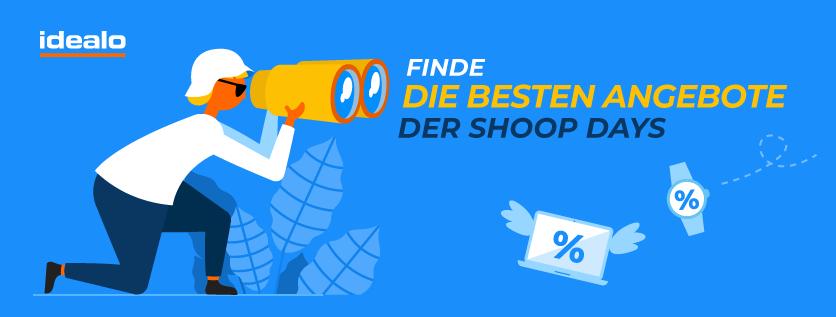 [Idealo.de] 3% Cashback + 5€ Shoop-Gutschein ab 99€ MBW